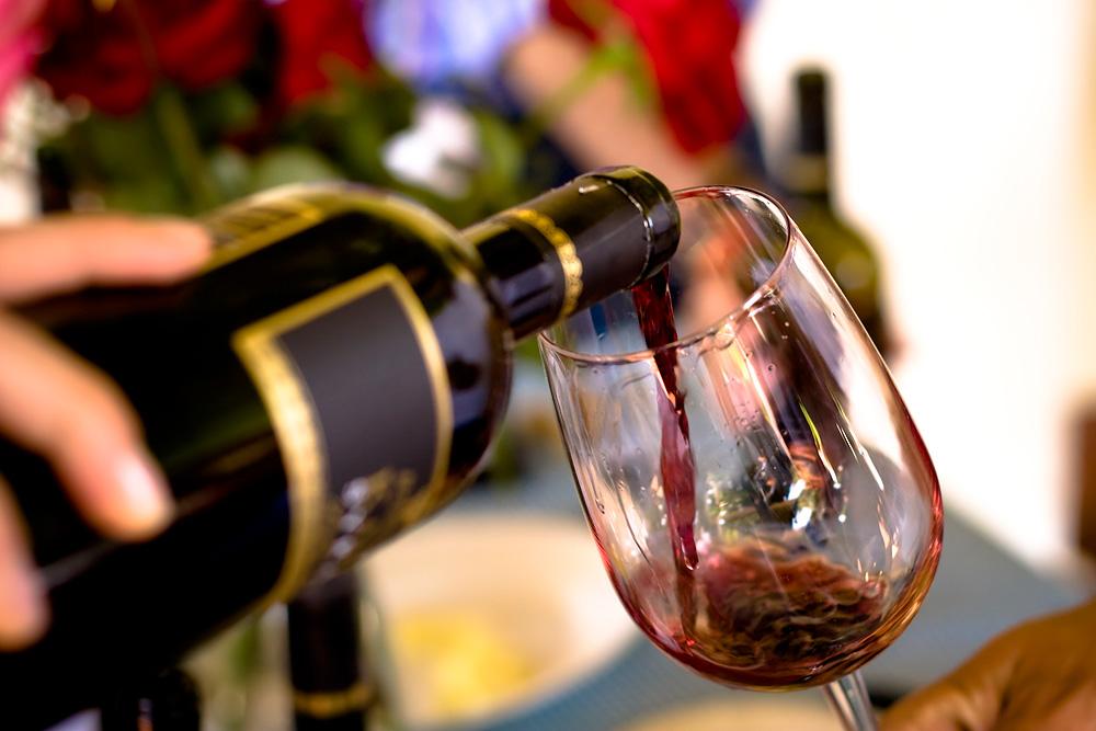 Een van de wijnen van Alessandro di Camporeale