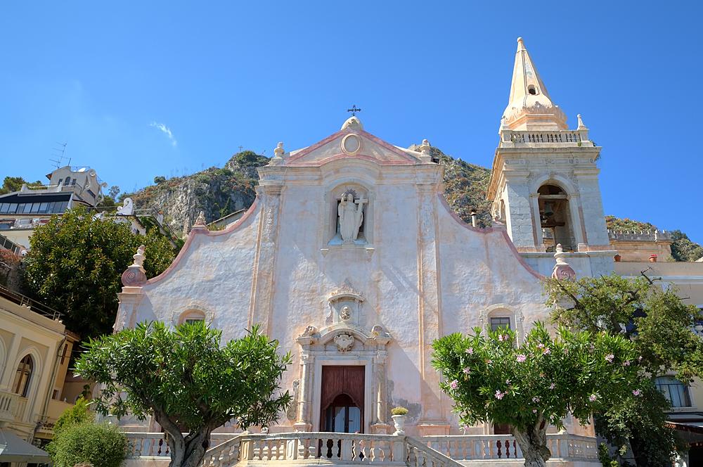 De San Giuseppe kerk in Taormina