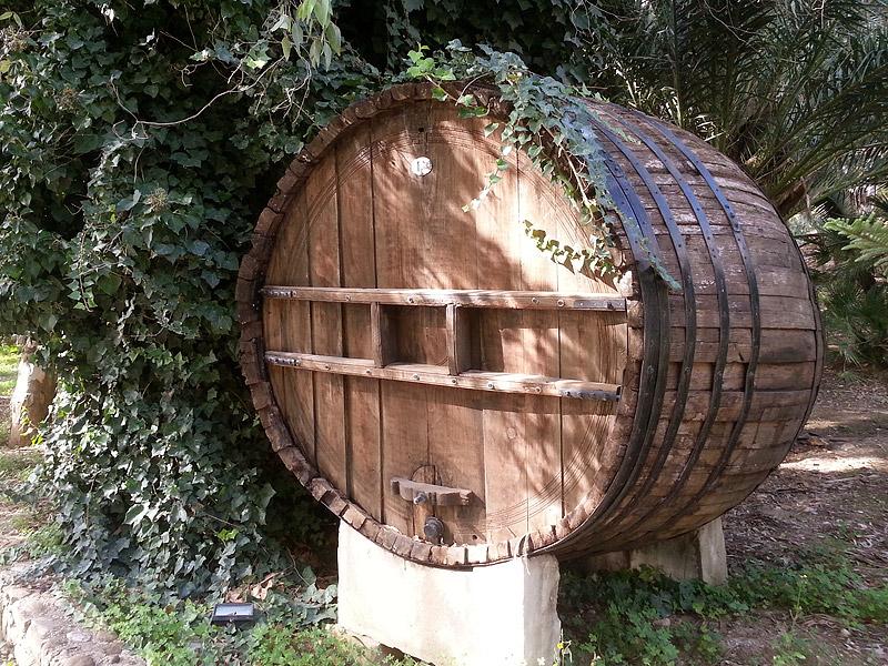 Een antiek wijnvat van Feudo Disisa