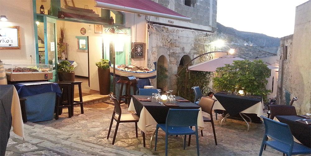 Ristorante Mirko's in Castellammare del Golfo