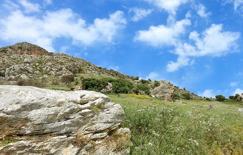 Het gebergte bij Scopello en het natuurreservaat Lo Zingaro op Sicilië