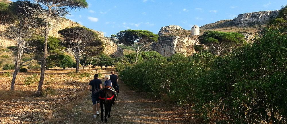 Onderweg naar de Saraceense toren