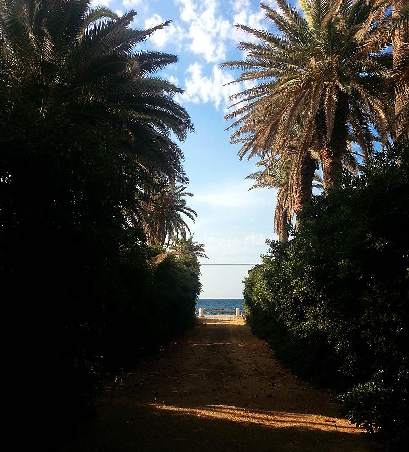 Tenuta Pizzolungo bevindt zich vlakbij zee.