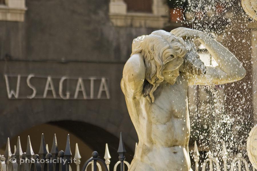 De Fontana dell'Amenano in Catania