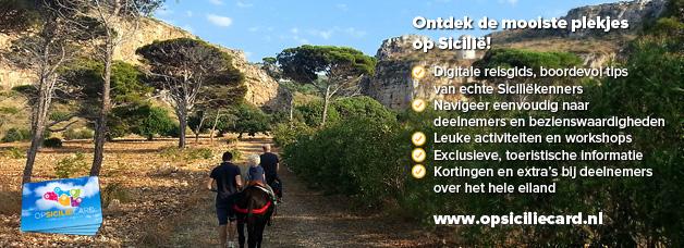 Bestel nu de opsiciliecard en haal meer uit je vakantie op Sicilië!