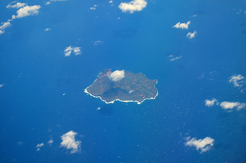 The island of Ustica