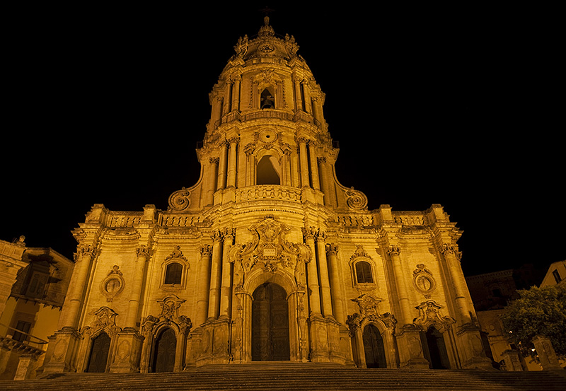 The cathedral of Modica