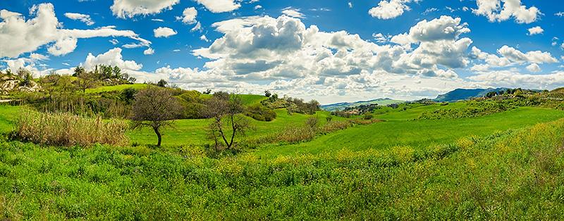 Sicilië in het voorjaar