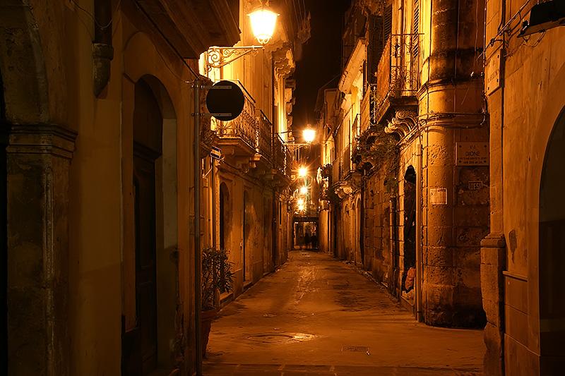 In Ortigia (dit had overigens ook in Palermo kunnen zijn)