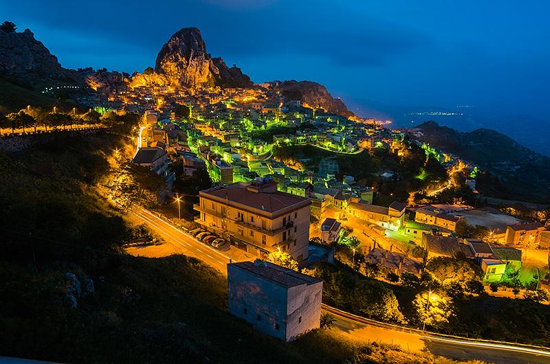 Het plaatsje Caltabellotta
