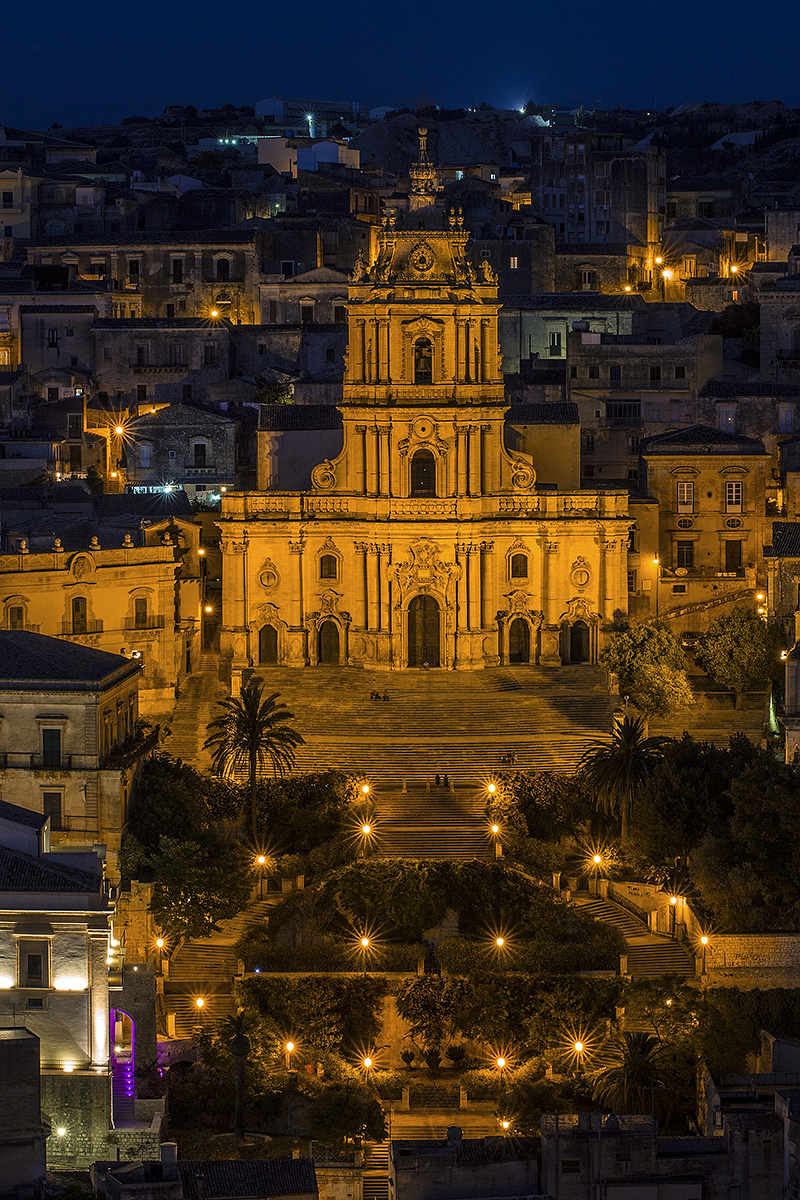 The baroque Cathedral of Modica
