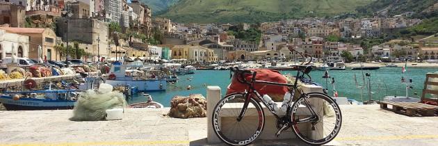 Fietsen op Sicilië