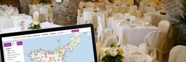 Deelnemers zoeken op een tablet of pc – 1. restaurants