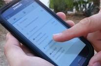 Met je smartphone naar deelnemers aan de opsiciliecard navigeren
